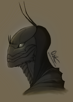 Insectoid Bust by Harseik