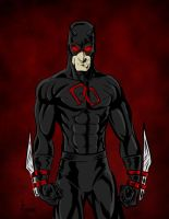 Shadowland Daredevil  by James by VPizarro626