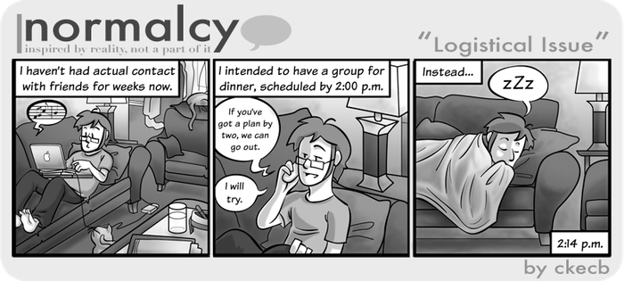 Normalcy-33:Logistical Issue by NormalcyStudios