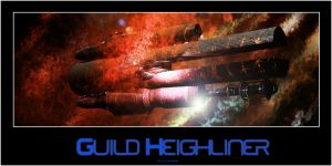 Guild heighliner by ShaneGallagher