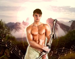 Greek God: Apollo by Gypsy-Love