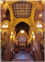 St Mary's Cathedral - Organ Area by JohnK222