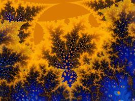 The Sun Is Coming Down by FractalMonster