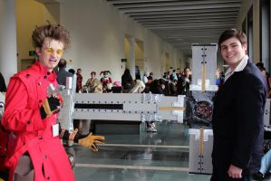 Vash and Wolfwood are at it again! by geekypandaphotobox