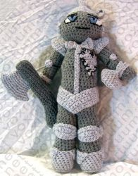 Tin Woodsman Amigurumi Doll by voxmortuum