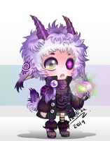 [CLOSED!] Auction : Little Mage #2 by Nuku-Niku