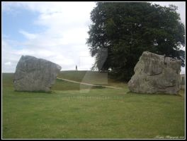 Avebury Stones by Lunapic