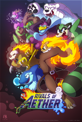 Rivals of Aether by wolfiisaur