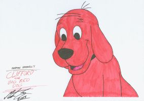 Clifford the Big Red Dog by MortenEng21