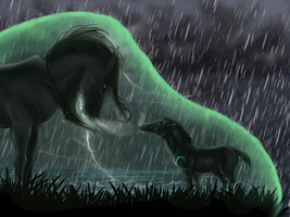 Chosen in the Storm by JourneyHorse