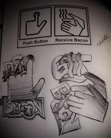 Bacon Hand Dryer by ksouth