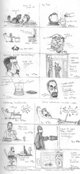 Hourly Comic 01-23-2010 by technosapien