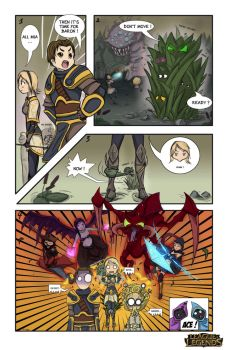 Comic LoLz Contest Entry by Izarian-art
