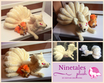 Ninetales Plush by Ishtar-Creations