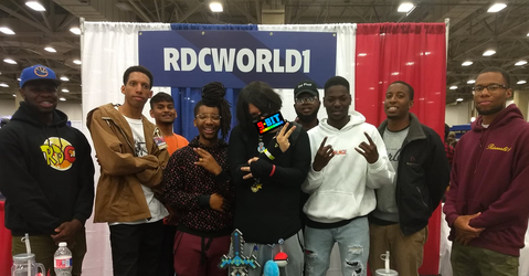 Me with the guys from RDCworld1 by PxlCobit