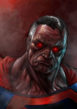 Berserk Superman by eliasrosario