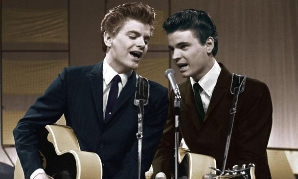 The Everly Brothers Colorized by OldHank