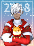 [FFXIV] My Character : New Year 2018 by TRipLE333