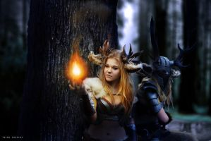 Fauns by Karoughh