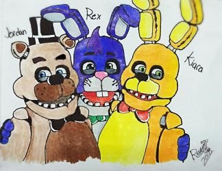 [Traditional/Gift] Photo with my Brothers by BonnieBunny2