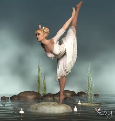 Water Ballerina by Roy3D