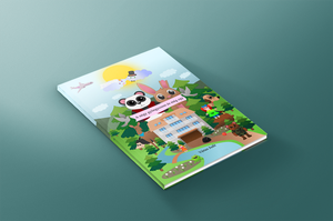 Child book Cover mockup by wildgica