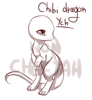 {closed} Chibi dragon YCH 4 by IvonChee