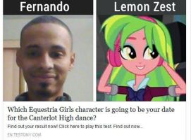 Which Equestria Girls Is Going To Be My Date by Omnianimeman