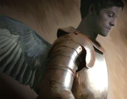 Castiel...day of the apocalyps by Blueraven90