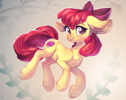 Apple Bloom by LocksTO