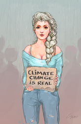 Elsa: When You Can't Let It Go by firefly-wp