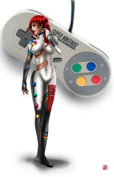 SuperNintendo Controller by TyrineCarver