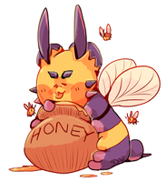 im a BIG bee by soarielle