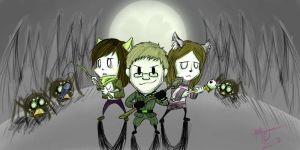 Don't starve together with friends by omeiku