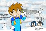 Iwata going snowball fightin by dawny