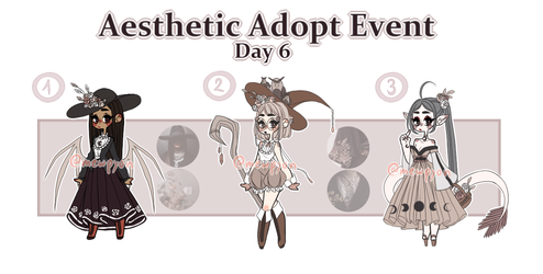 Aesthetic Event: Day 6 [CLOSED] by Mewpyonadopts