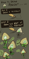How to Draw Peridot by AnneDyari