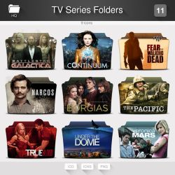 TV Series Folders - PACK 11 by limav