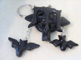 Gothic Key Chain by PastryStitches