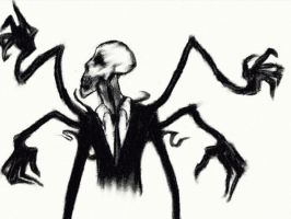 Slender Man by Louiseyface