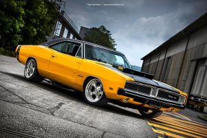 1969 Dodge Charger 426 Hemi by AmericanMuscle