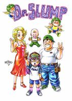 Dr. Slump_color by MatiasSoto