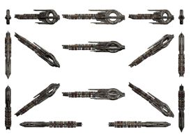 Mass Effect 3, Quarian Ship Reference. by Troodon80