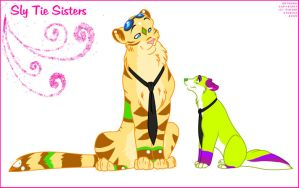 Sly Tie Sisters by Winzer
