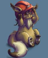 MY HAT IS TOO BIG by Endivinity