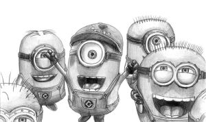 Minions by SoulStryder210