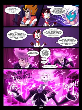 The Mystery Skulls Misadventures: 'Wounds' pg29 by Anastas-C