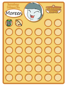 Moreen Kyland Inventory by millemusen