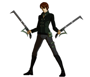 Nuzlocke RWBY Collab- Huntsman Caleb by RTJGSketch