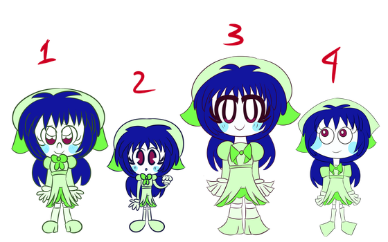 4 Main Styles atm by Giss-chan